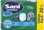 Ελαστικό εσώρουχο ακράτειας Sani Sensitive Pants Extra Large No4 20τμχ.
