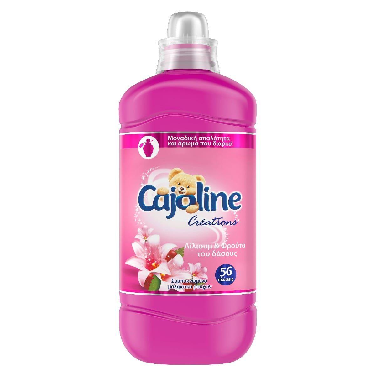 Cajoline Συμπυκνωμένο Μαλακτικό Λίλιουμ και Φρούτα του Δάσους 1,4lt