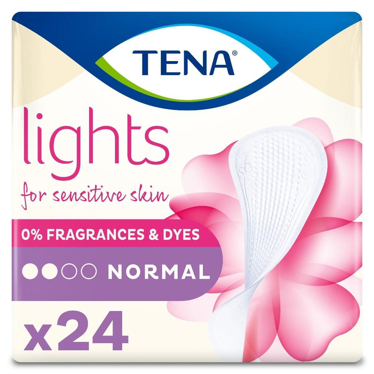 Σερβιετάκια Ελαφράς Ακράτειας TENA Lights Normal 24 τμχ