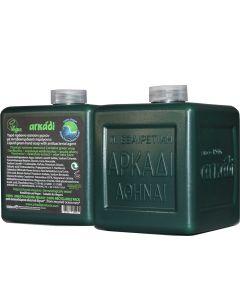 Αρκάδι Υγρό Πράσινο Σαπούνι χεριών ανταλλακτικό με αντιβακτηριδιακή δράση 500ml