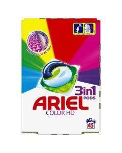 Ariel 3in1 PODS Color HD Κάψουλες - 45 Κάψουλες