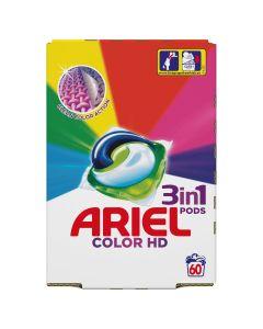 Ariel 3in1 PODS Color HD Κάψουλες - 60 Κάψουλες