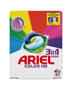 Ariel 3in1 PODS Color HD Κάψουλες - 81 Κάψουλες