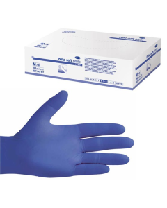 Peha-soft® nitrile Εξεταστικά γάντια νιτριλίου, χωρίς πούδρα (Medium 7-8) 150τεμ