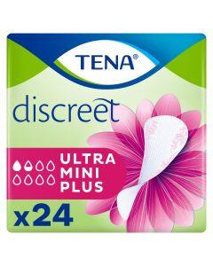 Σερβιέτες Tena Lady Discreet Ultra Mini Plus (24τεμ)