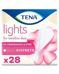 Σερβιετάκια Ελαφράς Ακράτειας TENA Lights Discreto 28 τμχ