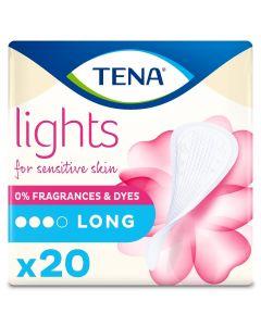 Σερβιετάκια  Ελαφράς Ακράτειας TENA Lights Long 20 τμχ