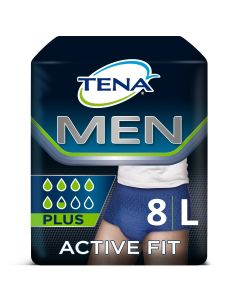Tena Men Active Fit Large 95-130cm (8τεμ)