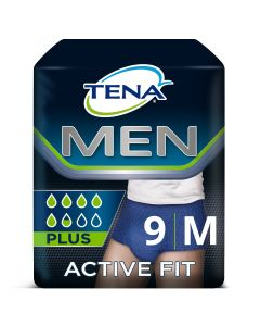 Tena Men Active Fit (9τεμ) Size M (75-105cm)
