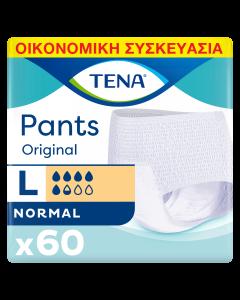 Tena Pants Original Normal Large Οικονομική Συσκευασία 100-135 cm (60τεμ)