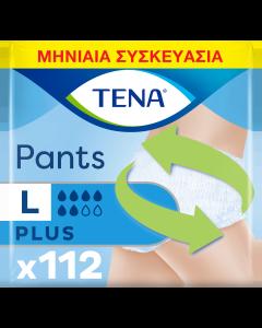 Tena Pants Plus Large Μηνιαία Συσκευασία (100-135cm) 112τεμ