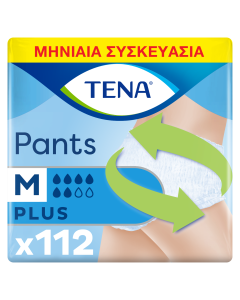 Tena Pants Plus Medium Μηνιαία Συσκευασία (80-110cm) 112τεμ