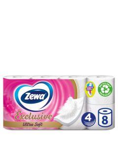 Χαρτί Υγείας ZEWA Exclusive Ultra Soft 4φυλλο 8 ρολά