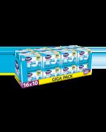 Σερβιέτες ακράτειας με βαμβάκι Sani Lady Extra Large No6 Giga Pack 160τεμ (16X10τμχ-κιβώτιο)